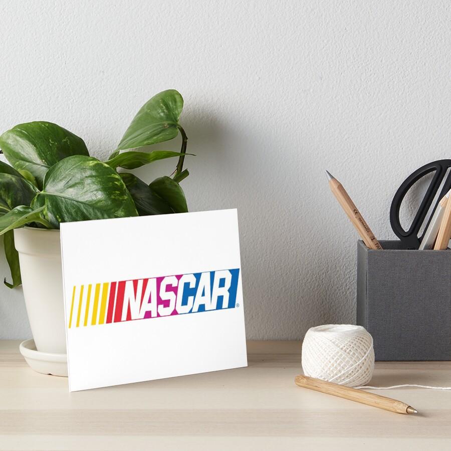Nascar-Logo Galeriedruck