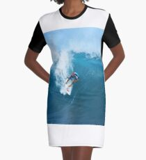 Kelly Slater Takeoff Pipeline Masters Graphic T-Shirt Dress
