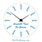 Acceptable Gaming Times by FullBitGaming