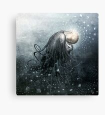 Blue Valentine Dreams Canvas Print