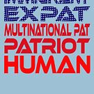 Multinational Thoughts on Our Patriotism: Immigrant by Carbon-Fibre Media