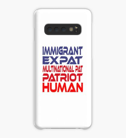 Multinational Thoughts on Our Patriotism: Immigrant Case/Skin for Samsung Galaxy