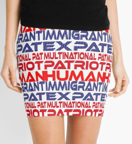 Multinational Thoughts on Our Patriotism: Immigrant Mini Skirt