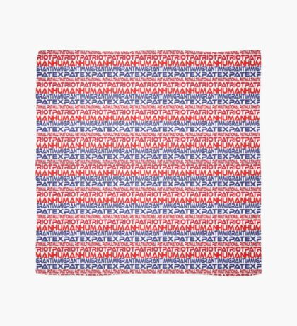 Multinational Thoughts on Our Patriotism: Immigrant Scarf