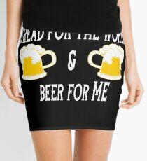 Funny Beer Saying Mini Skirt