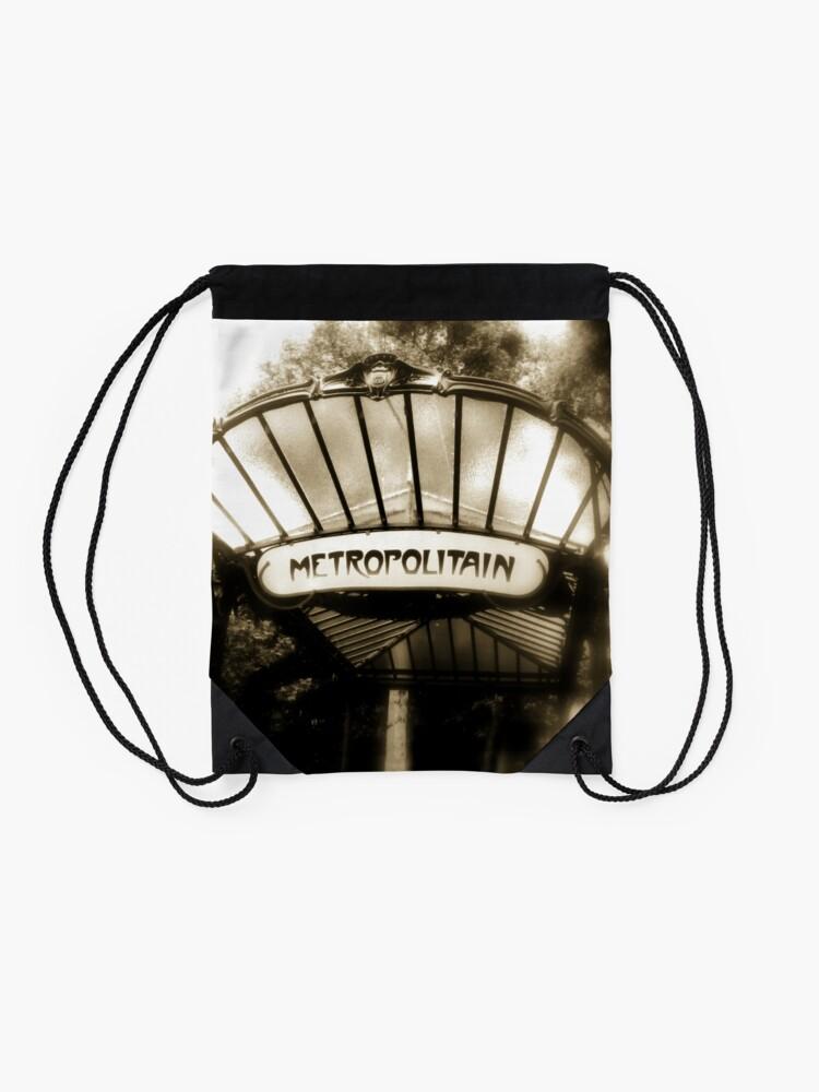Alternate view of Paris Drawstring Bag