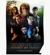 Schattenjäger Familie Poster