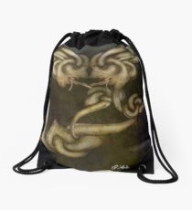 greed Drawstring Bag