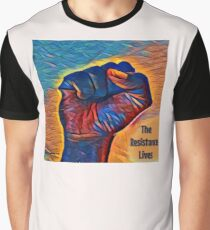 The Resistance Lives. Graphic T-Shirt