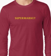Camiseta de manga larga Logic Supermarket Book logo
