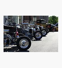 Hot Rods #1 Photographic Print