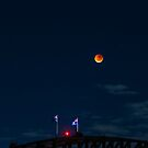 Clearing - Blood Moon Eclipse In A Winter Sky by ShotsOfLove