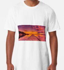 """Freycinet Dawn"" Long T-Shirt"
