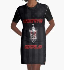 Classic Monte Carlo Graphic T-Shirt Dress