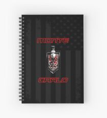 Classic Monte Carlo Spiral Notebook