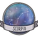 Scorpio Constellation - Star Sign by quotify
