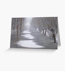 Winter in Gouda Greeting Card