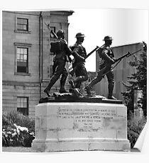 Charlottetown Cenotaph (War Memorial) Poster