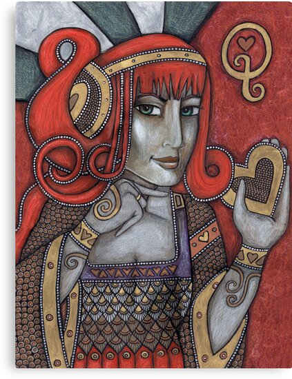 Queen of Hearts (Off With Their Heads!) by Lynnette Shelley