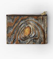Wood knot .4 Studio Pouch