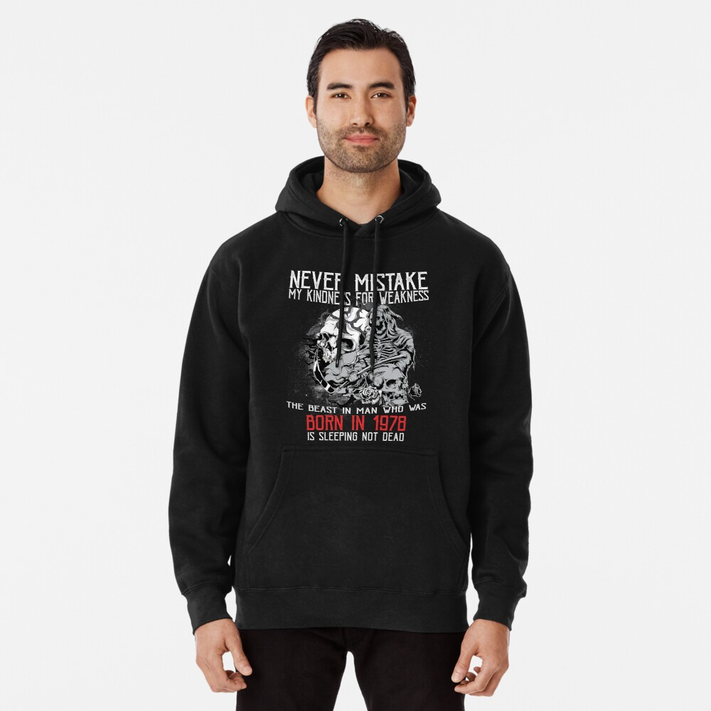 Happy Birthday Horror - Born In 1978 Pullover Hoodie