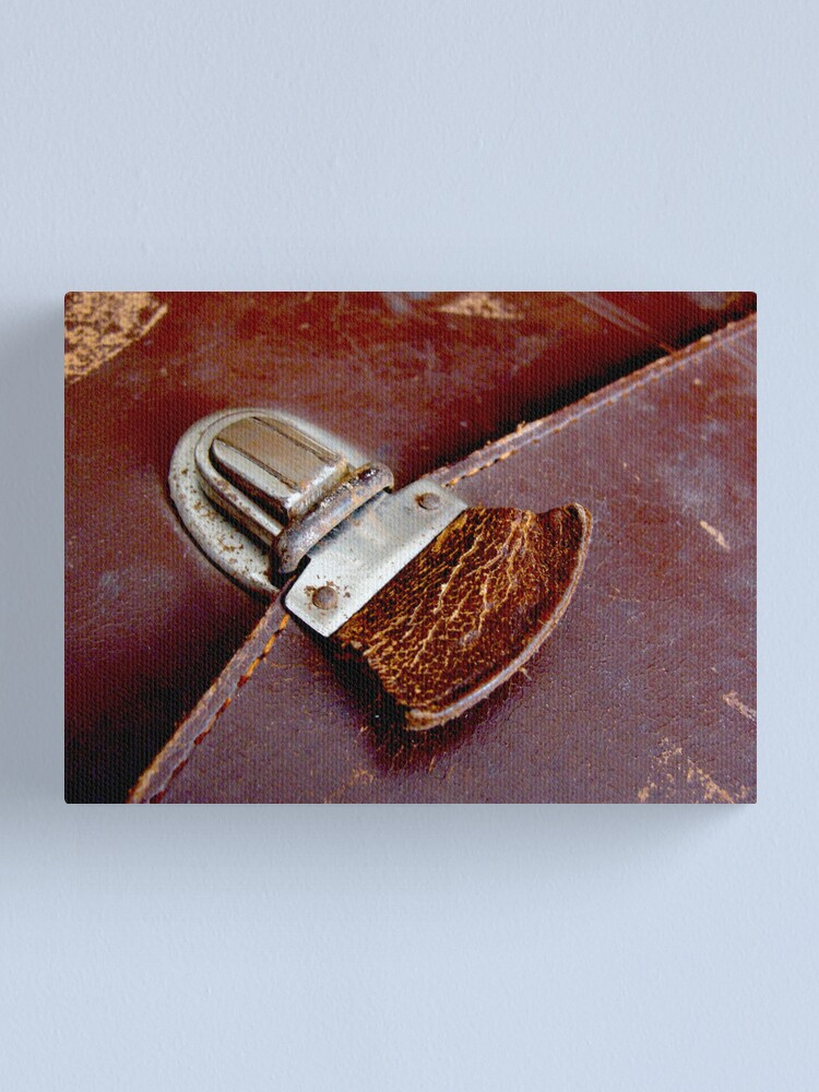 Alternate view of Leather & Latch Canvas Print
