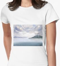 Misty Isle Women's Fitted T-Shirt