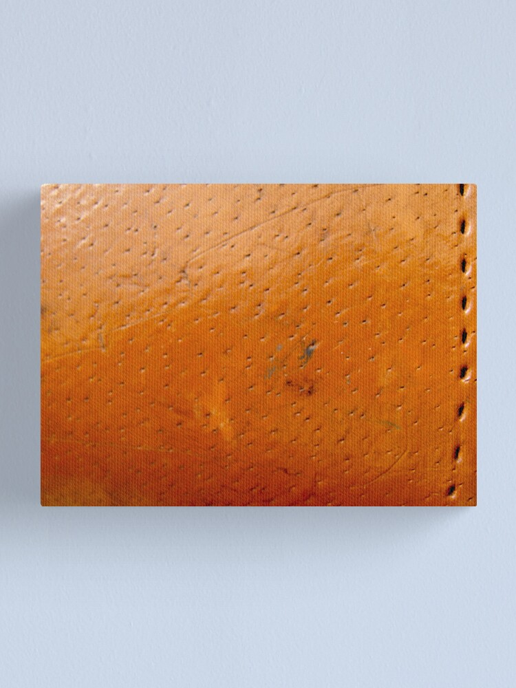 Alternate view of Leather Pores Canvas Print