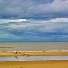 A Big Kid On The Beach by lezvee