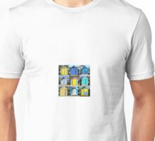 Brighton Bathing Boxes in Blue Unisex T-Shirt