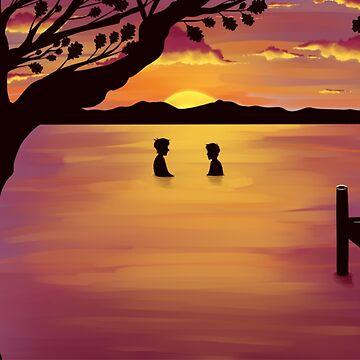 Sunset by quidditchchick