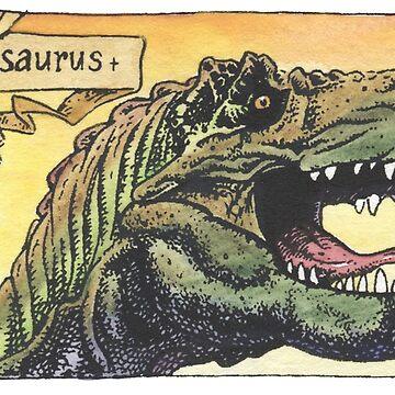 Tyrannosaurus Rex by SnakeArtist