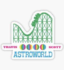 Astroworld Logo Sticker