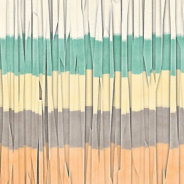 Abstract Textural Stripes by perkinsdesigns