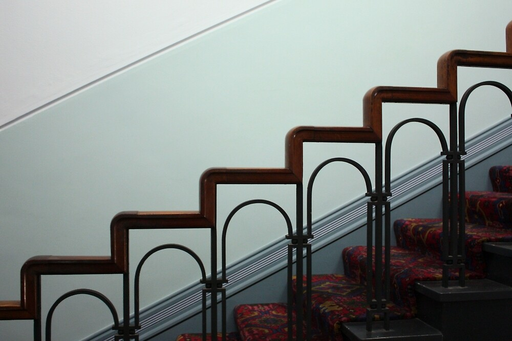 stairway by Christopher Biggs
