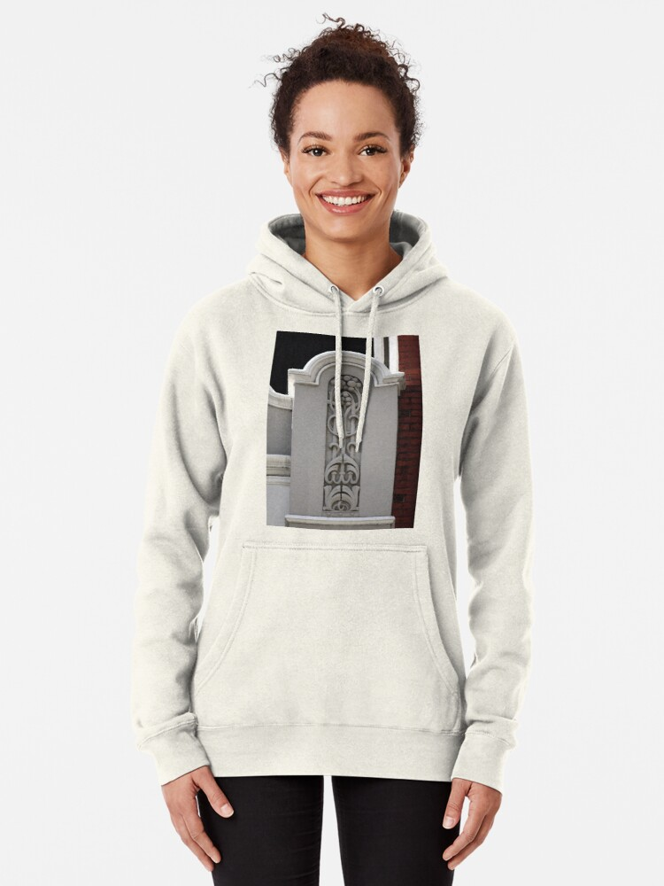 Alternate view of Architectural Art Nouveau  Pullover Hoodie