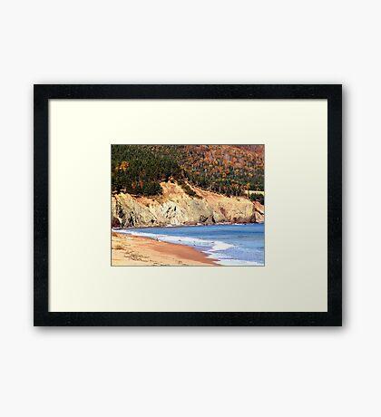 Aspy Bay,Cape Breton Framed Print