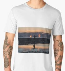 Anthony Gormley's Another Place Men's Premium T-Shirt