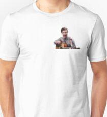 Camiseta unisex Jake Peralta gritando con la guitarra