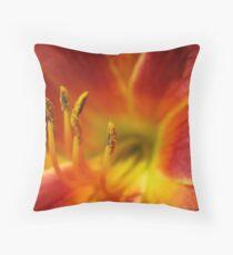 Firy Hot Throw Pillow