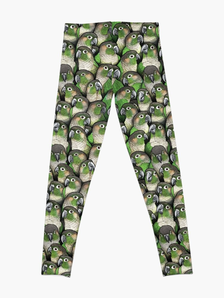 Alternate view of Green-cheeked Conures Leggings