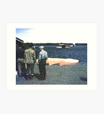 Wabush/Knob Lake 1953 Art Print