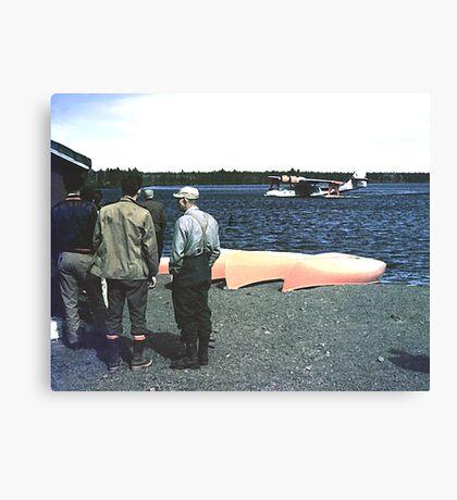 Wabush/Knob Lake 1953 Canvas Print
