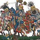 Herzog von Anhalt Medieval Battle, 1305 by edsimoneit