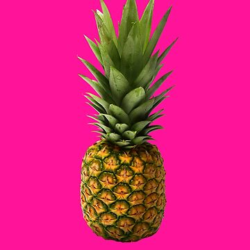 Fresh Pineapple Art | Perfect for Summer Vacation | For Vegans or People who enjoy healthy and delicious tropical fruits by regedy1