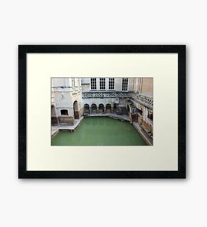 The Bath At Bath Framed Print