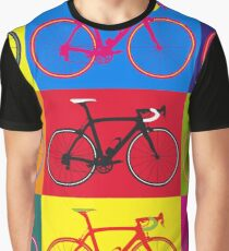 Fahrrad Andy Warhol Pop Art Grafik T-Shirt