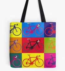 Bike Andy Warhol Pop Art Tote Bag