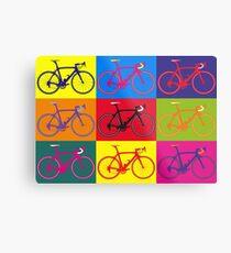 Bike Andy Warhol Pop Art Metal Print