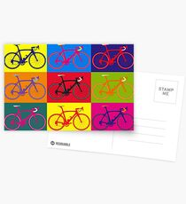Bike Andy Warhol Pop Art Postcards